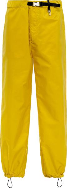 Prada Yellow Re Nylon Trackpants Sph151 1wq9 F0010 S 212