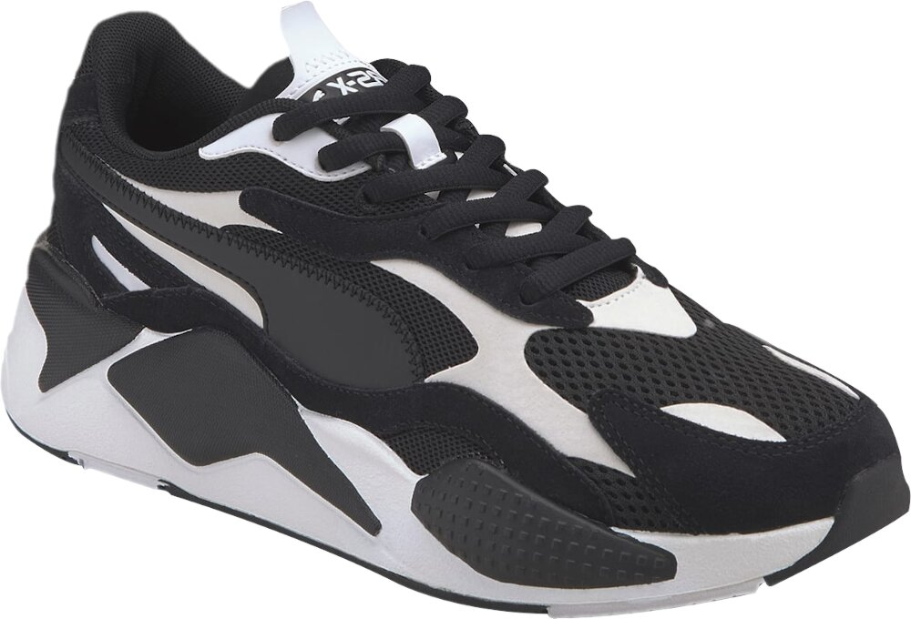 Puma Black And White Rs X³ Super