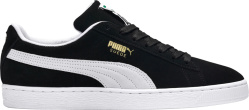 Puma Black Suede Classic Sneakers