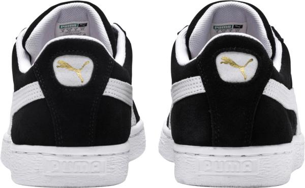 Puma Black Suede Sneakers