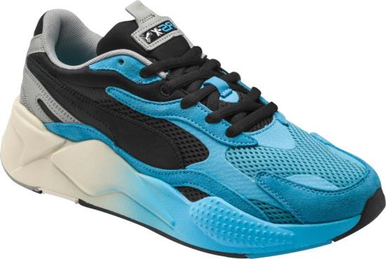 Puma Blue Gradients Rsx3 Move Sneakers
