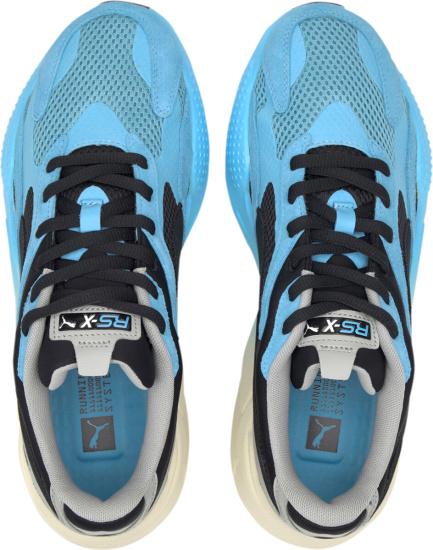 Puma Blue Grey Gradients Sneakers