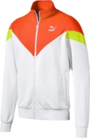 Orange, White, & Yellow MCS Track Jacket