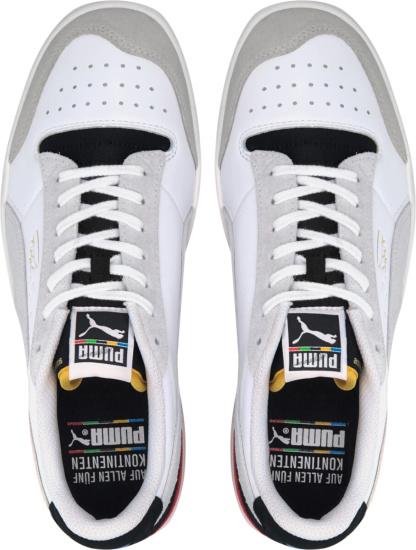 Puma Ralph Sampson White Ivory Black Tongue Sneakers