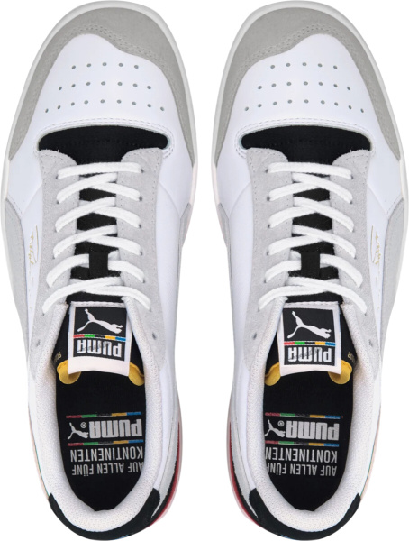 Puma Ralph Sampson White Ivory Black Tongue Sneakers