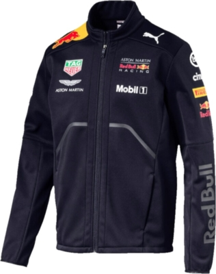 Puma Red Bull Soft Shell Racing Jacket