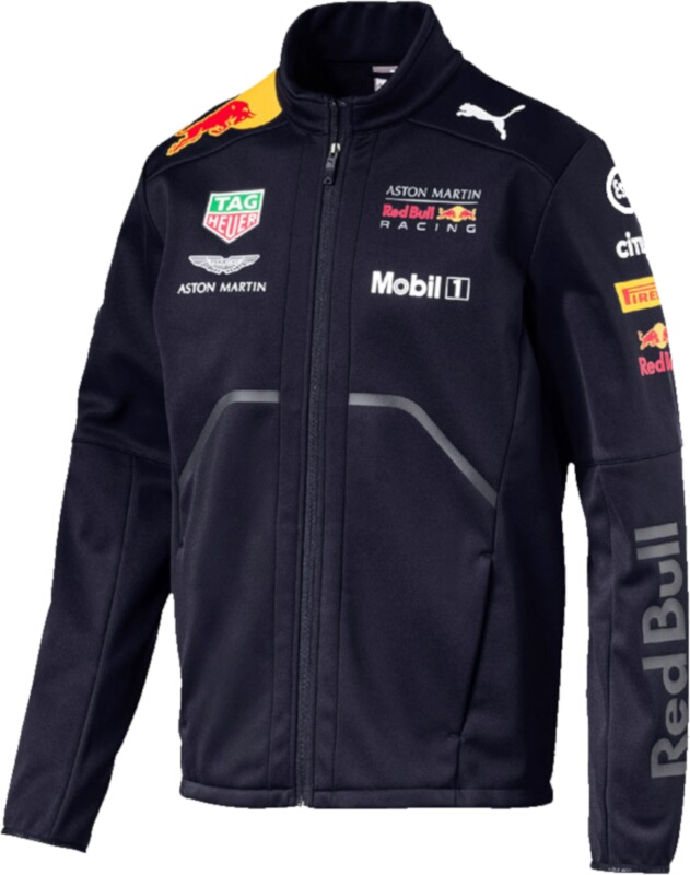 Puma Red Bull Soft Shell Racing Jacket