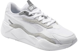 Puma White And Ivory Rsx3 Puzzle Sneakers