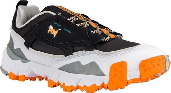 Puma X Helly Hansen Black And Orange Sneakers