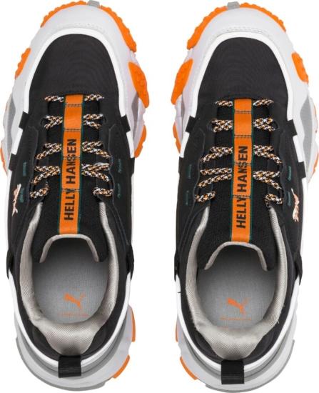 Puma X Helly Hansen White Black And Orange Sneakers