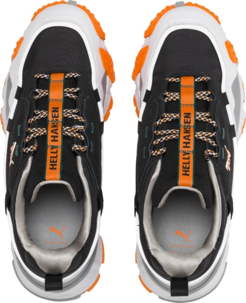 Puma X Helly Hansen White Black And Orange Sneakers