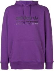 Purple Adidas Hoodie Worn By Kodak Black