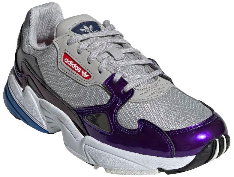 Purple And Grey Adidas Sneakers Worn By Kodak Black