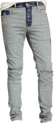 Purple Brand Two Tone Jeans