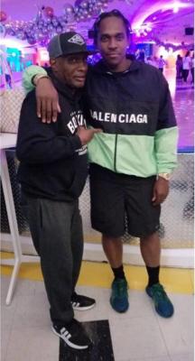 Pusha T Wearing A Balenciaga Windbreaker Black Patagonia Shorts And Adidas Sneakers