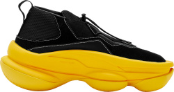 Pyer Moss Black Yellow The Sculpt Sneakers