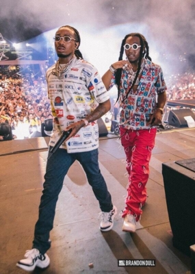 Quavo And Takeoff At Rolling Loud Music Festival