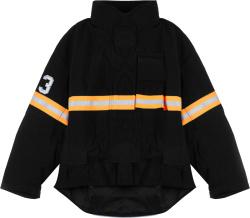 R13 Black Fireman Jacket