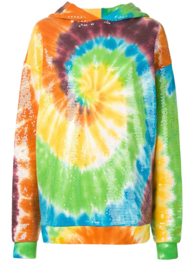 R13 Rainbow Sequin Hoodie Worn By Marshmellow In Light It Up Music Video
