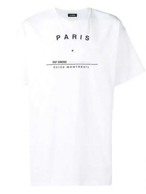 Raf Simons Tour Print T Shrit Worn By Offset