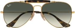 Rayban Outdoorsman Ii Gold Sunglasses