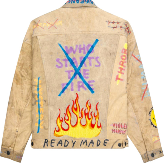 Readymade Embroidered Denim Jacket