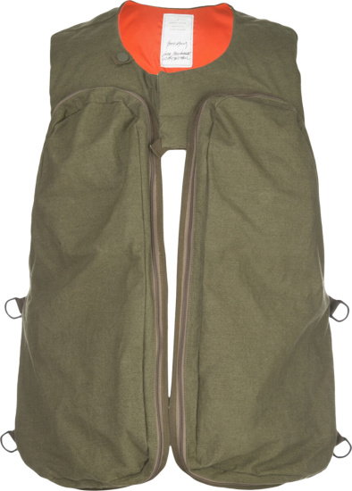 Readymade Green Cargo Pocket Harness Vest