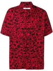 Red And Black Printed Shirt Worn By Yg In West Coast Music Video