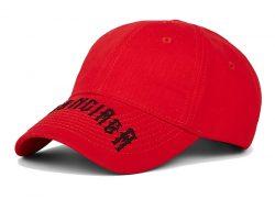 Red Balenciaga Hat Worn By Lil Skies