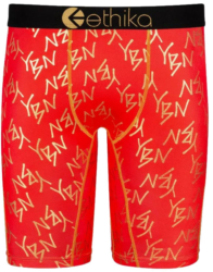 Red Peachy Color Briefs Worn By Ybn Almighty Jay In His 'new Drip' Music Video