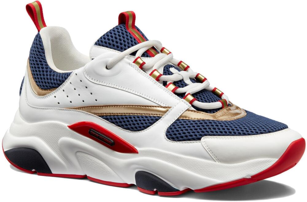 Red White And Blue Dior B22 Sneakers