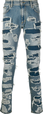 Represent Allover Ripped Jeans