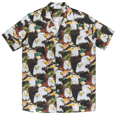 Rhude Allover Bald Eagle Printed Shirt