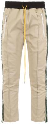 Rhude Beige Tuxedo Pants Worn By Juvenile