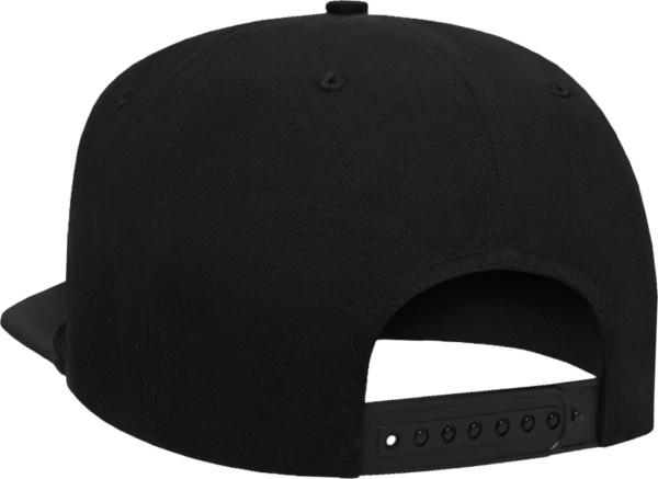 Rhude Black Rh Logo Hat