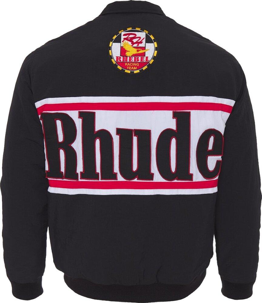 Rhude Black Dale Earnhardt Style Jacket
