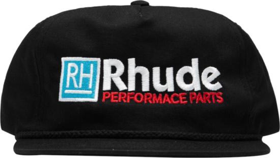 Rhude Black Rh Performance Hat