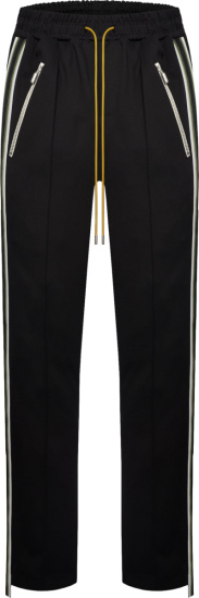 Rhude Black Traxedo Trackpants
