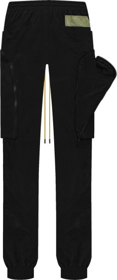 Rhude Black Yachting Cargo Pants