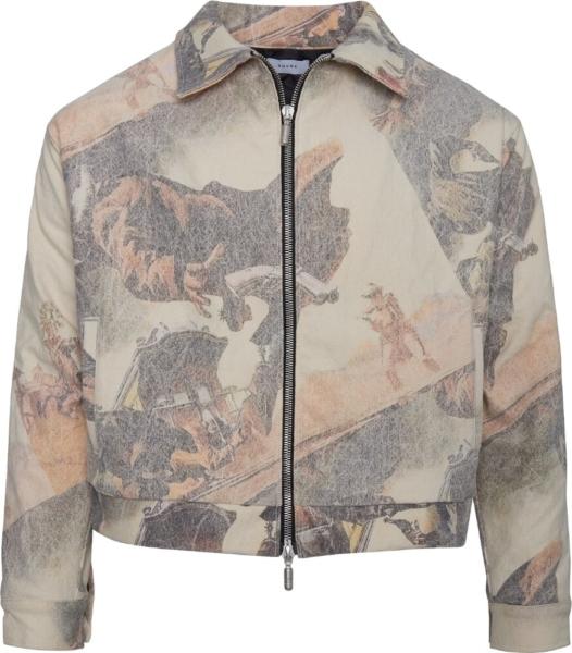 Rhude Gunslinger Print Jacket