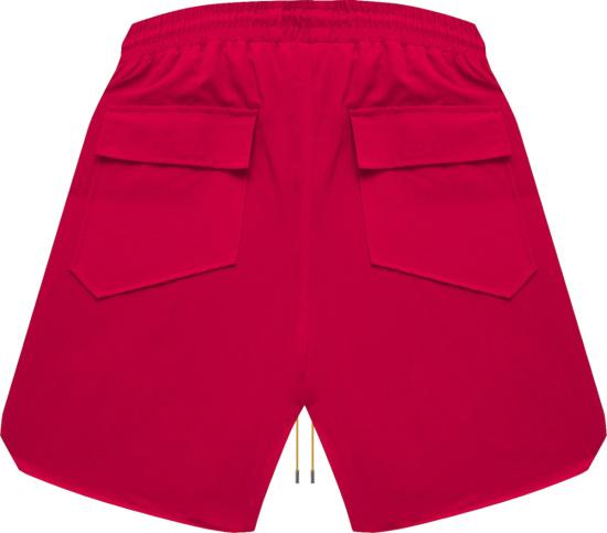 Rhude Red Rh Logo Shorts