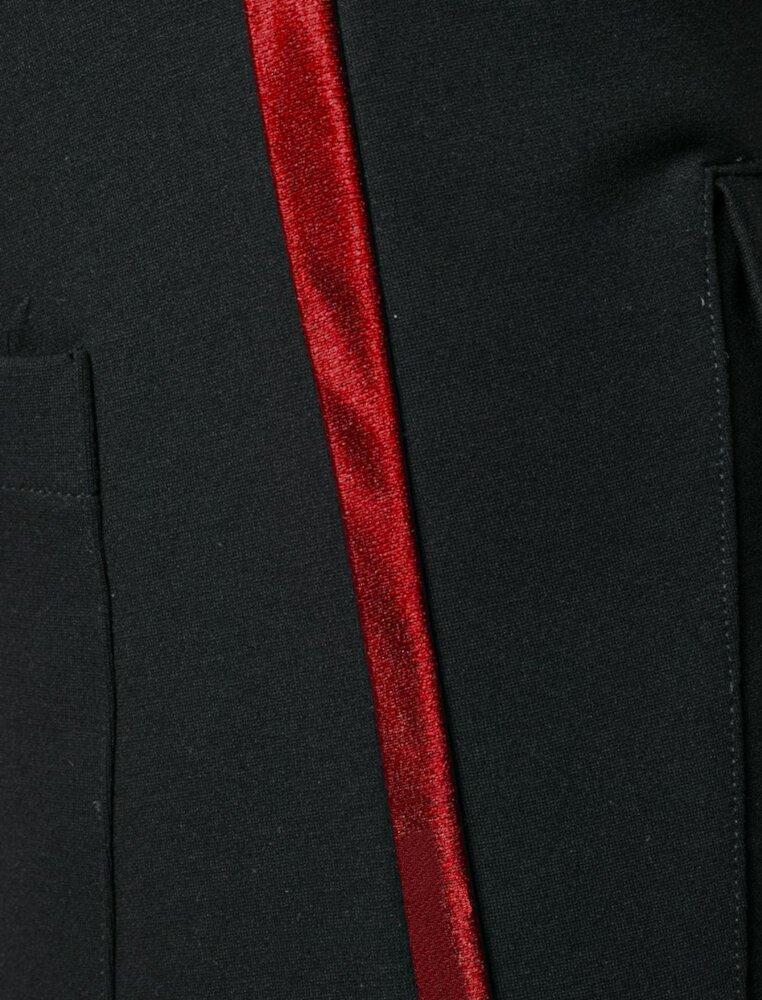 Rhude Red Sidestripe Trackpants