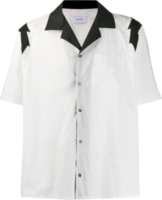 Rhude White Lightning Bolt Shirt