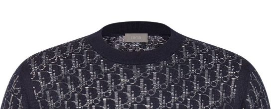 Rich The Kid Blue Sweater From For Keeps Music Video Dior Oblique Close Up Image
