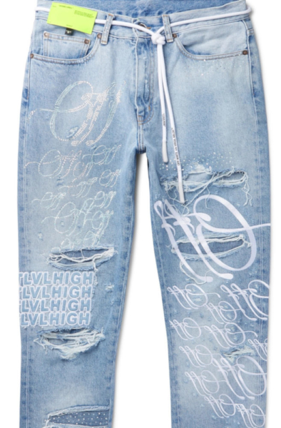 Rich The Kid Jeans Worn In The World Is Your 2 Music Video