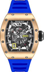 Richard Mille Rm 030 Rose Gold And Blue