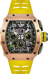 Richard Mille Rose Gold And Yellow Rm 11 03 Watch