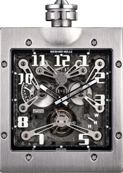 Richard Mille Titanium Rm 020 Pocket Watch