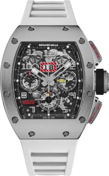 Richard Mille X Felipe Massa Titanium And White Rm 011 Watch