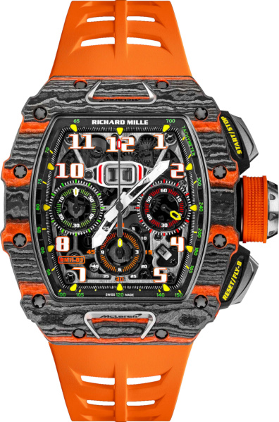 Richard Mille X Mclaren Rm 11 03 Black And Orange